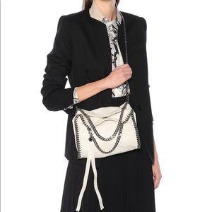 Stella McCartney mini falabella white bag